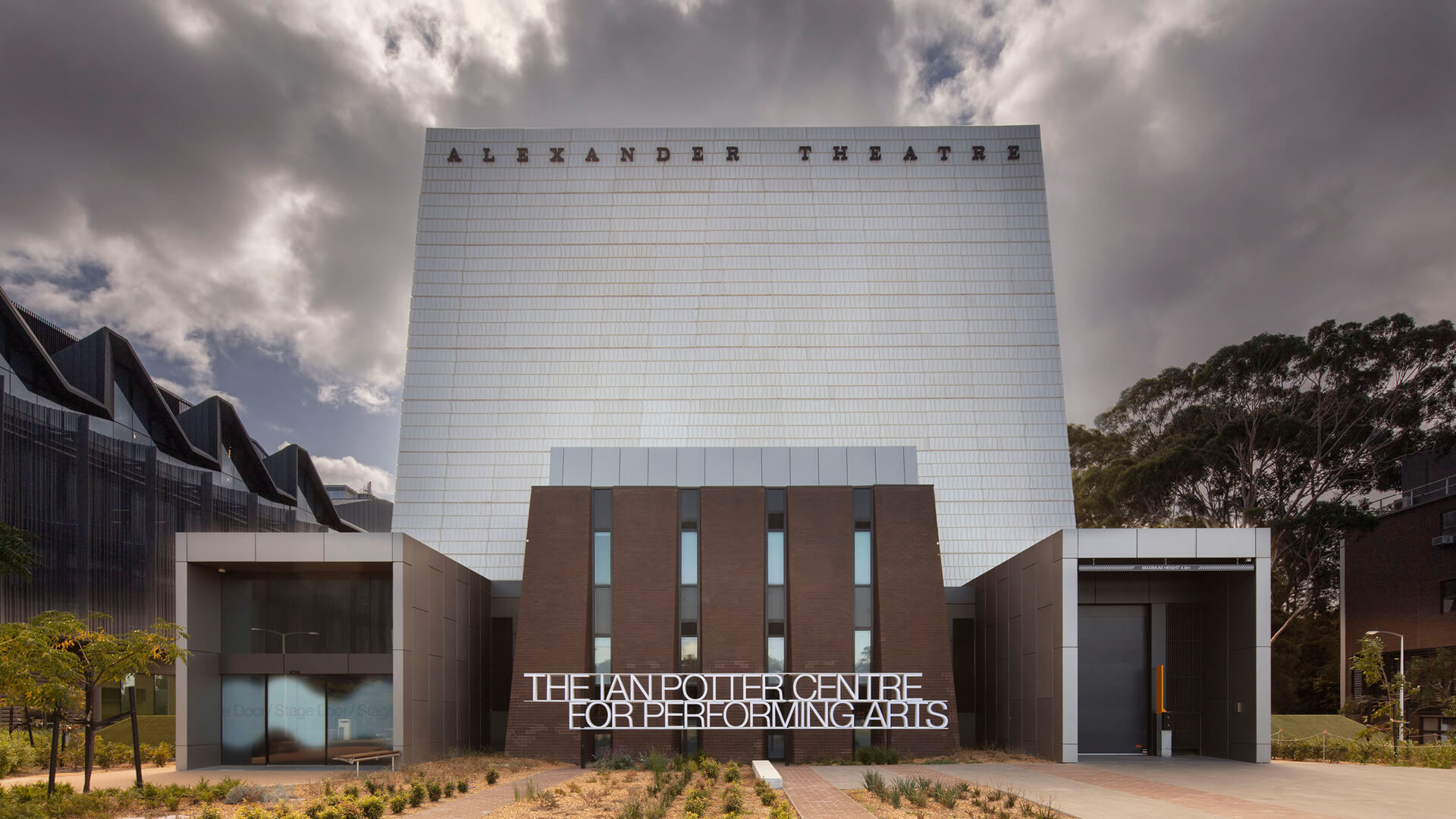 The new Ian Potter Centre designed by Peter Elliot Architecture + Urban Design in Clayton, Australia | Ian Potter Center for Performing Arts | Peter Elliot Architecture + Urban Design | STIRworld