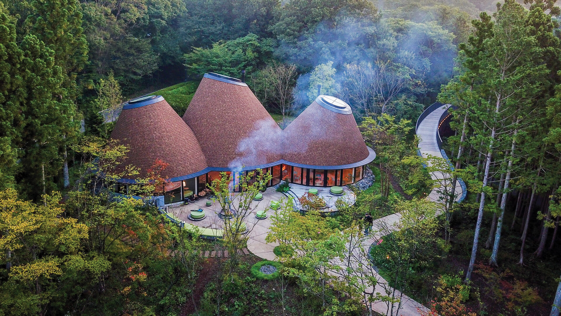 The PokoPoko Clubhouse by Klein Dytham Architecture has all the makings of an enchanted cabins in the woods | PokoPoko Clubhouse | Klein Dytham Architecture | STIRworld