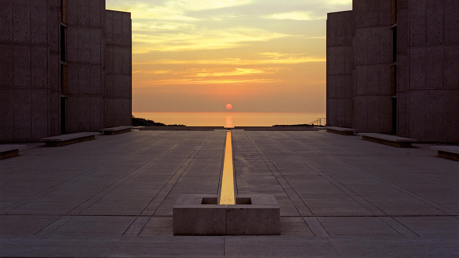 The Salk Institute for Biological Studies in San Diego, designed by Louis Kahn| The Silence Rings Loud | Louis Kahn| Sanjeev Panjabi | STIRworld