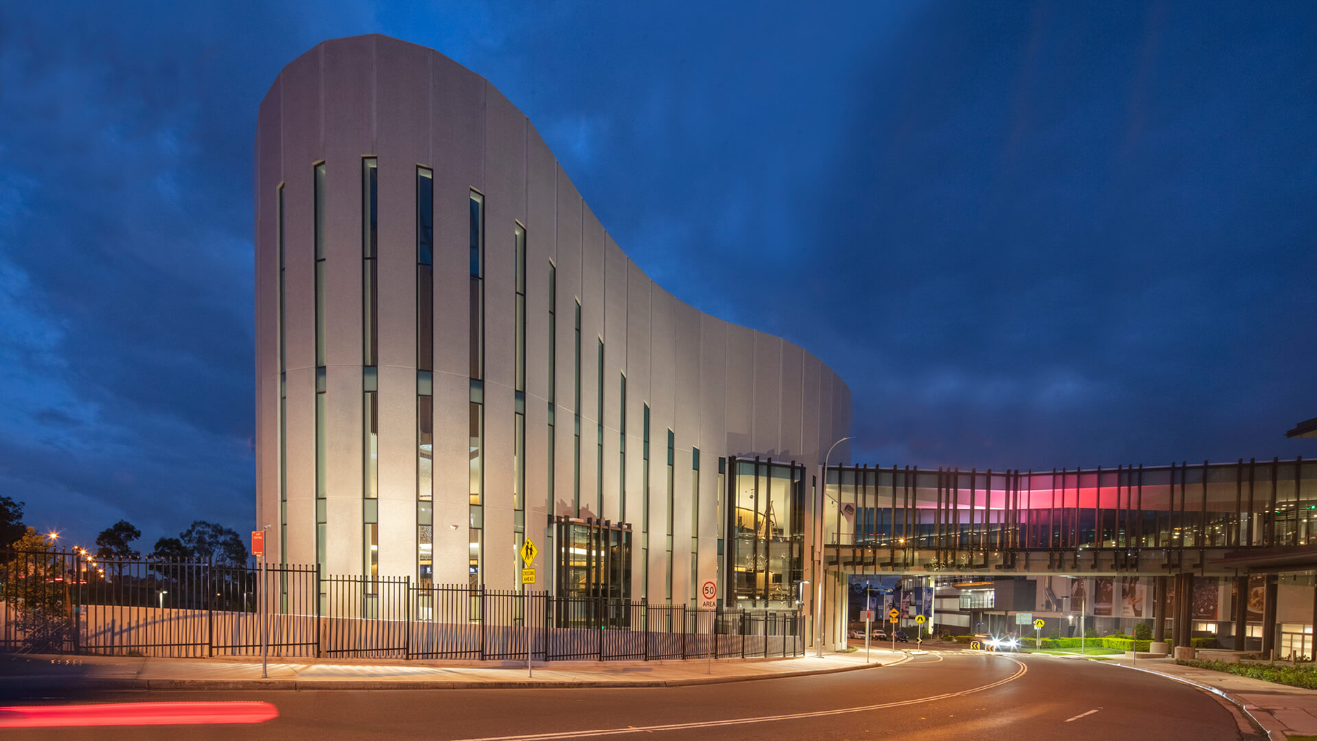 Cox Architecture designs a multimode theatre inspired by fluid curtains in Sydney