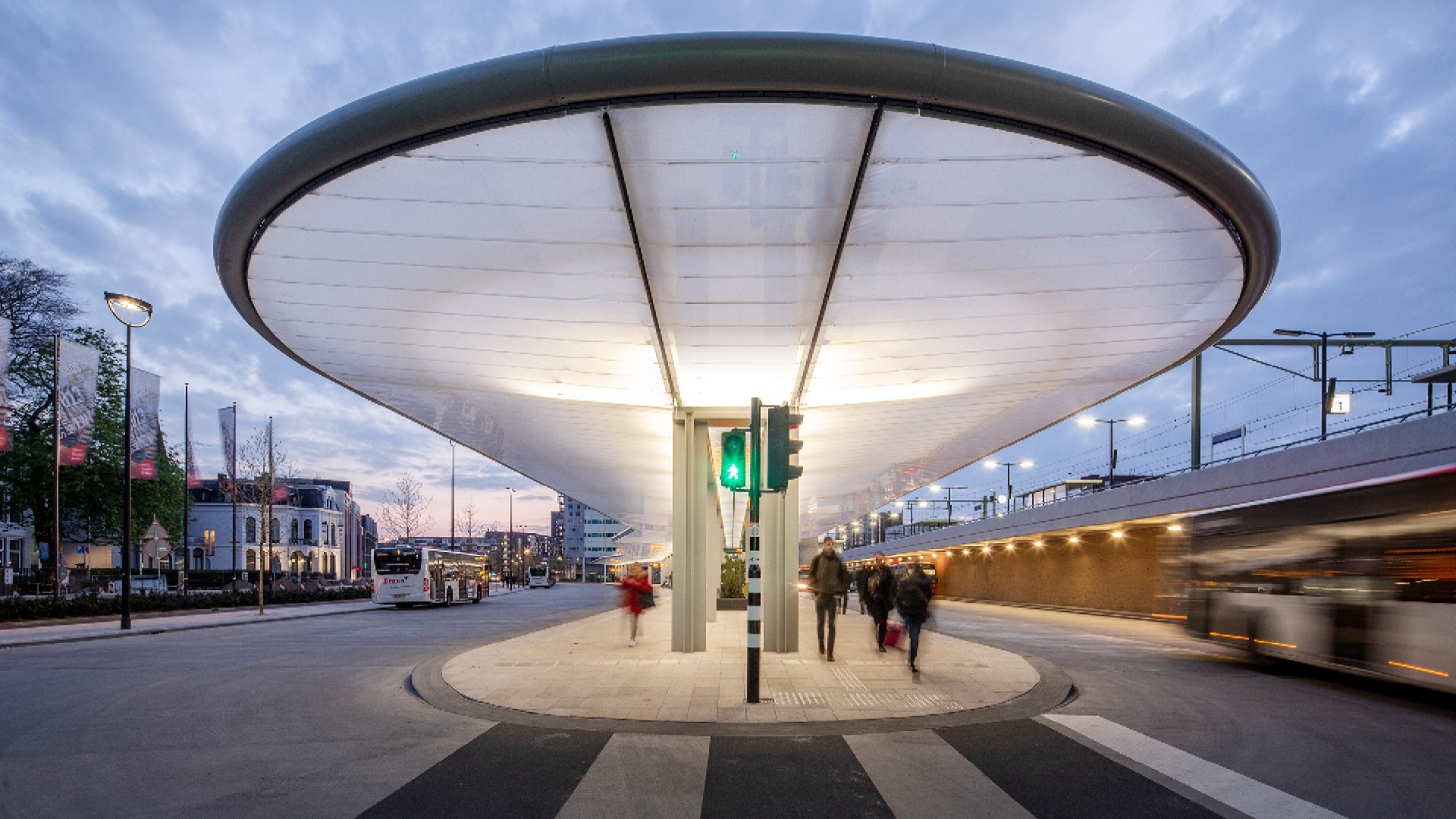 Tilburg's solar-powered bus station shows the way forward for transportation design