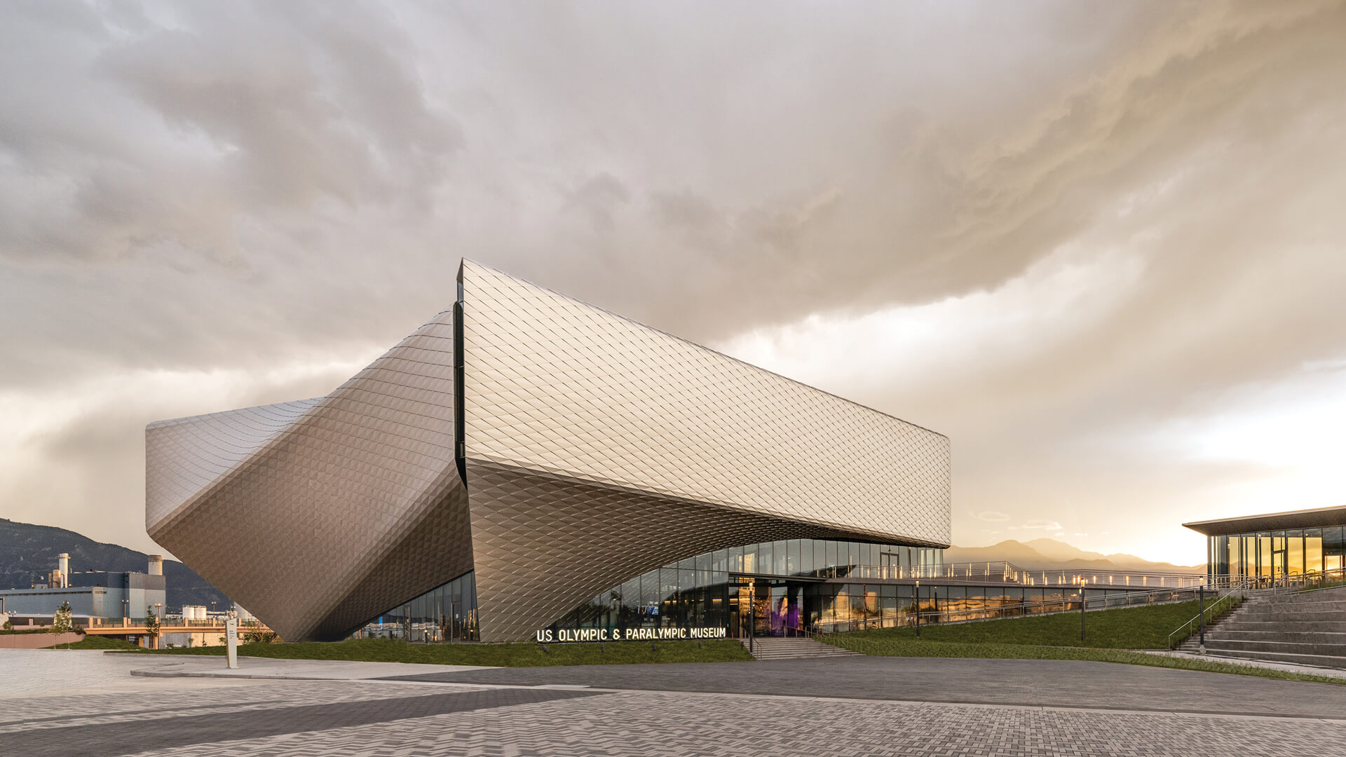 The United States Olympic and Paralympic Museum, Colorado | Diller Scofidio + Renfro | STIRworld