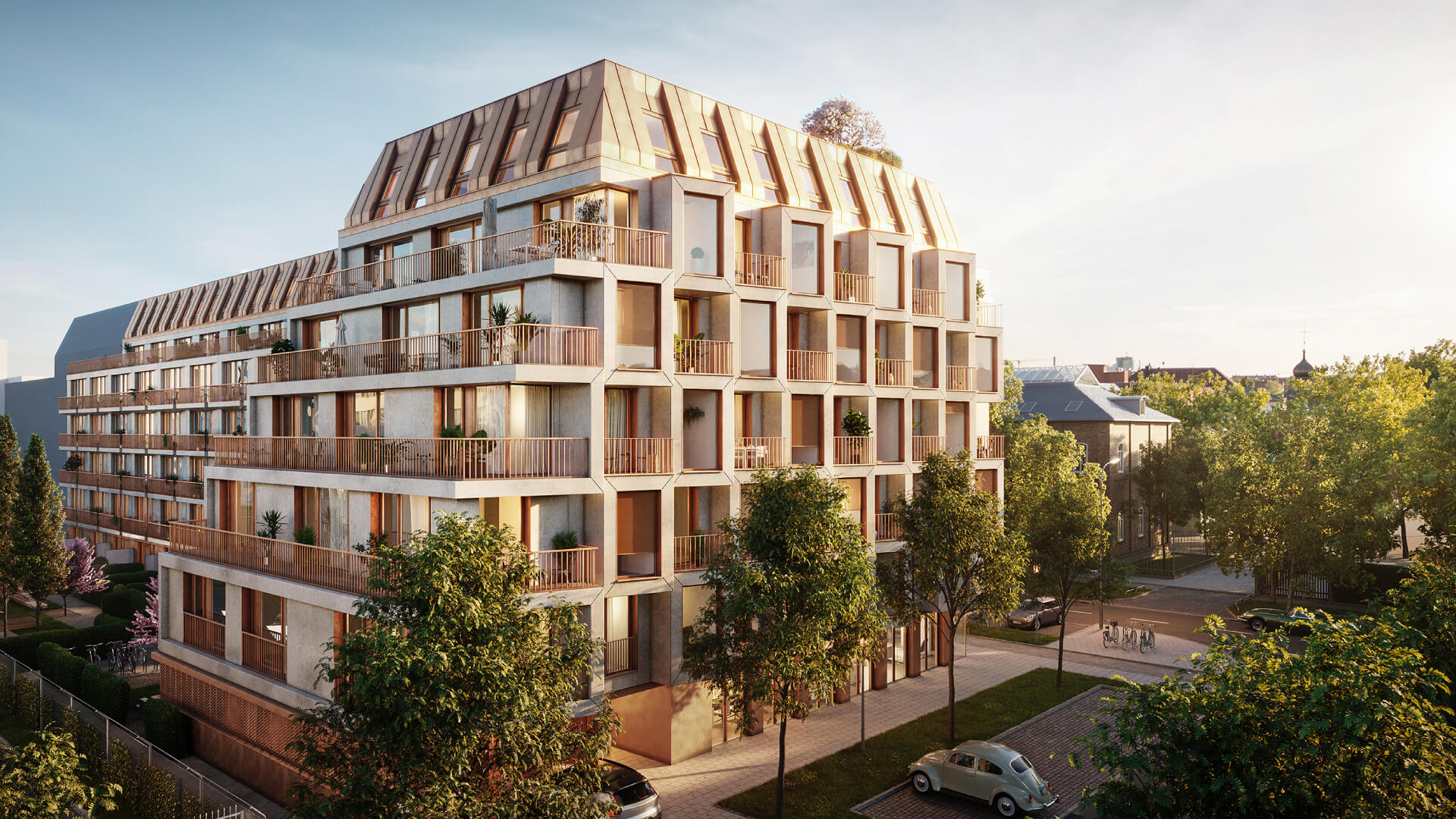 UNStudio's residential project in Munich brings home an 'analogue smart' concept