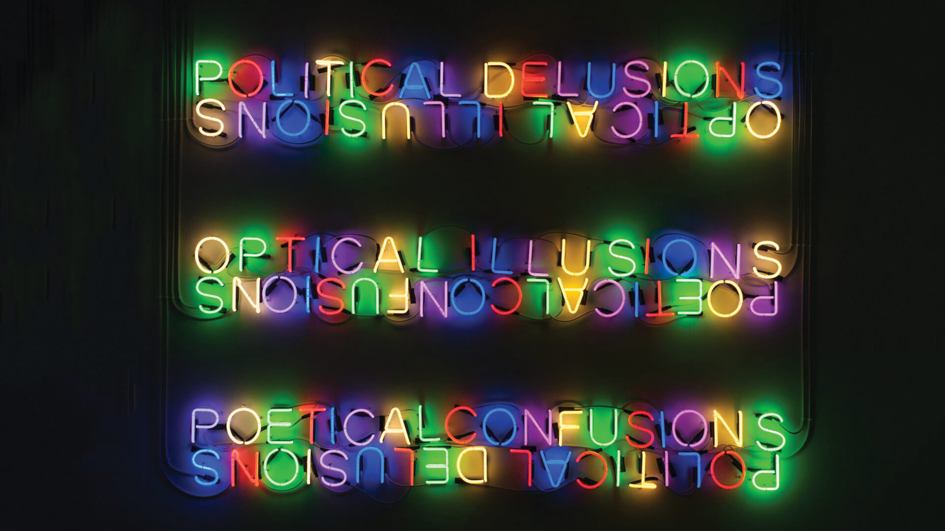 Tim Etchells' neon signage rightfully disorients us from evolving any easy relationship between truth, reality, and perception | Beniamin Boar| STIRworld