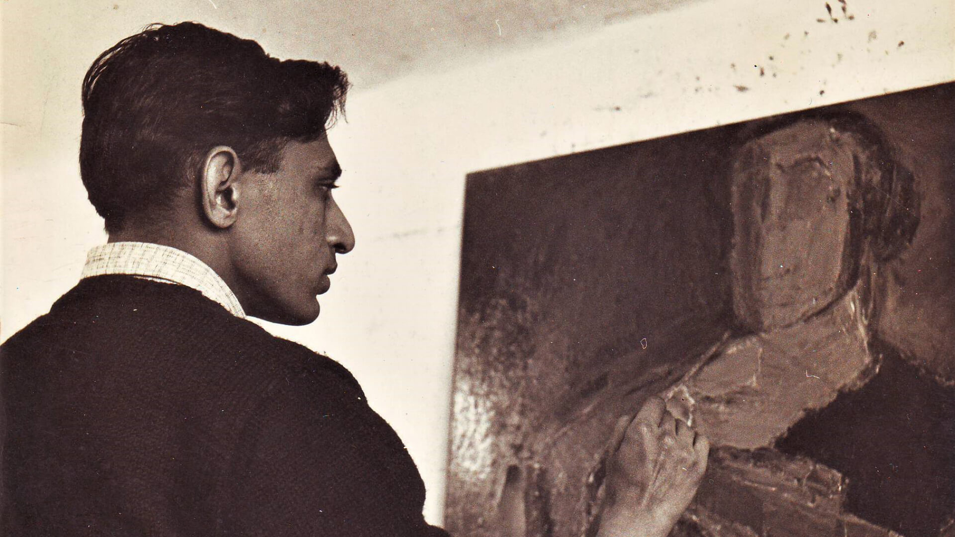 A peep behind the lofty canvases of Tyeb Mehta to discover his towering personality