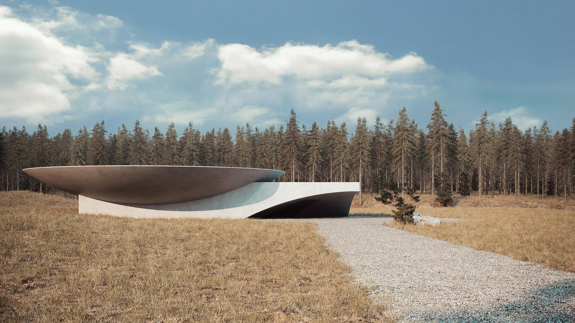 Underground House Plan B designed by Sergey Makhno Architects | STIRworld