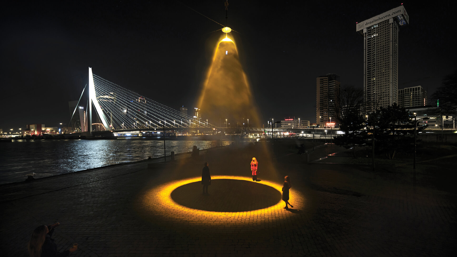 We dreamt about an Urban Sun floating above our cities: Daan Roosegaarde