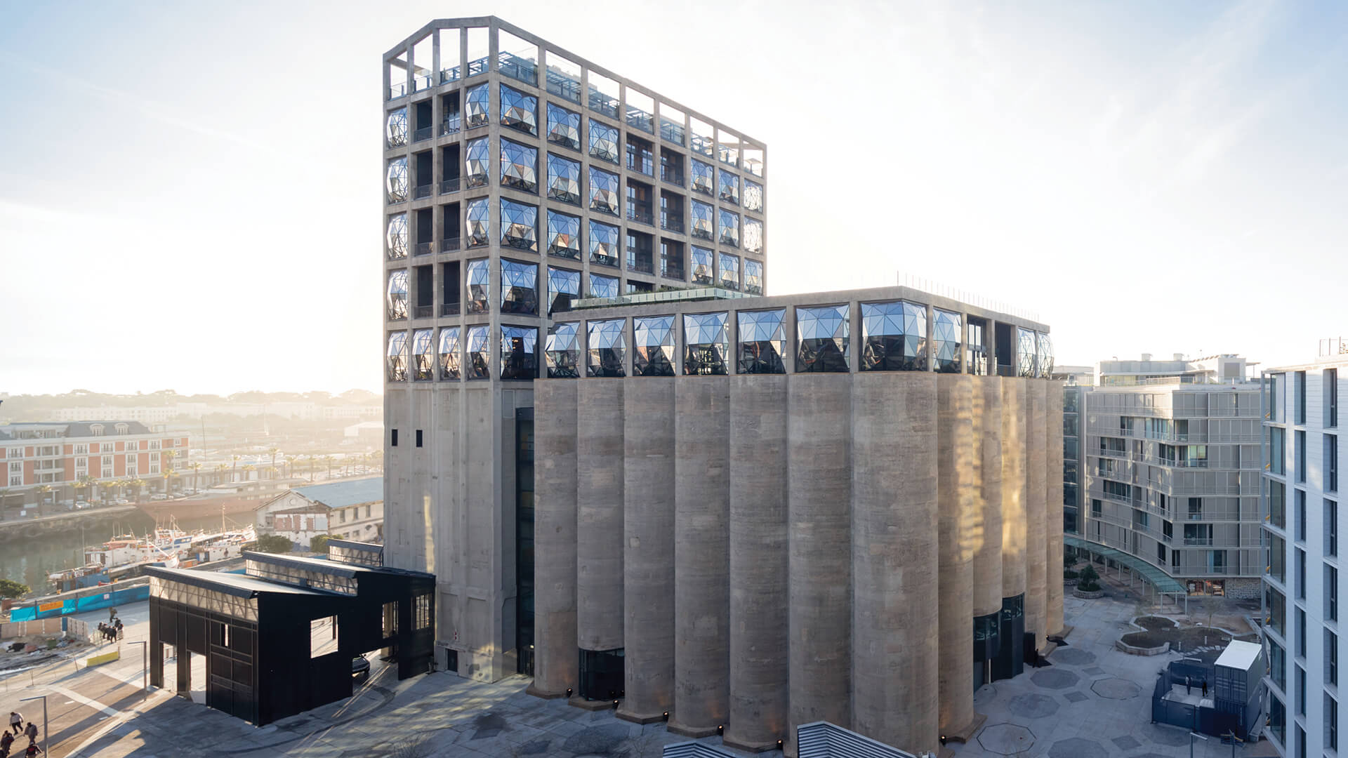 View of Zeitz MOCAA in Silo Square | Zeitz MOCAA by Heatherwick Studio | STIRworld