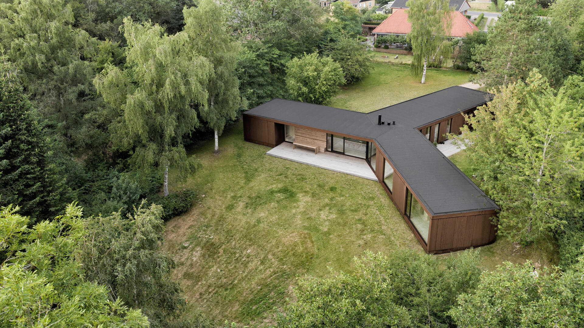Villa Korup designed by Jan Henrik Jansen Arkitekter with Marshall Blecher, in Fyn island, Denmark | Villa Korup designed by Jan Henrik Jansen Arkitekter with Marshall Blecher | STIRworld