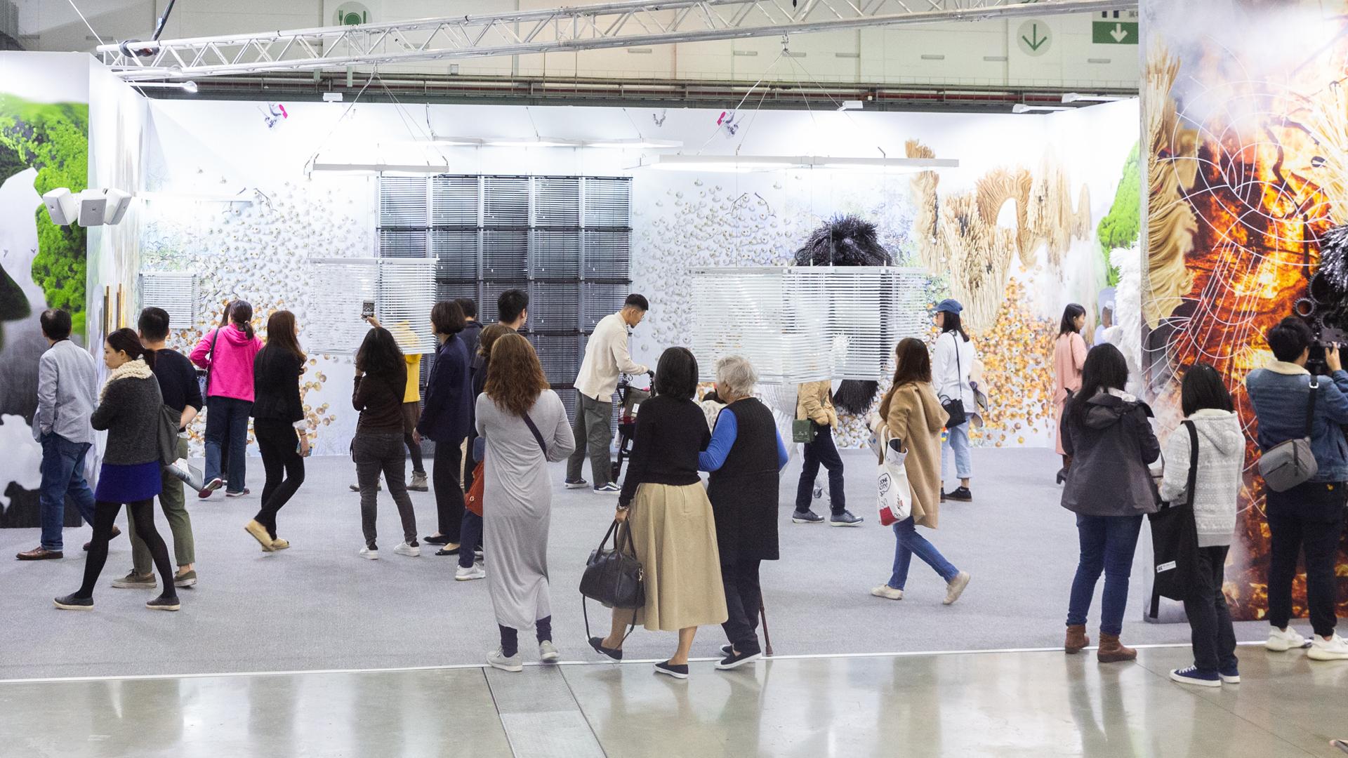 Visitors at the first Edition of Taipei Dangdai | Taipei Dangdai | STIRworld