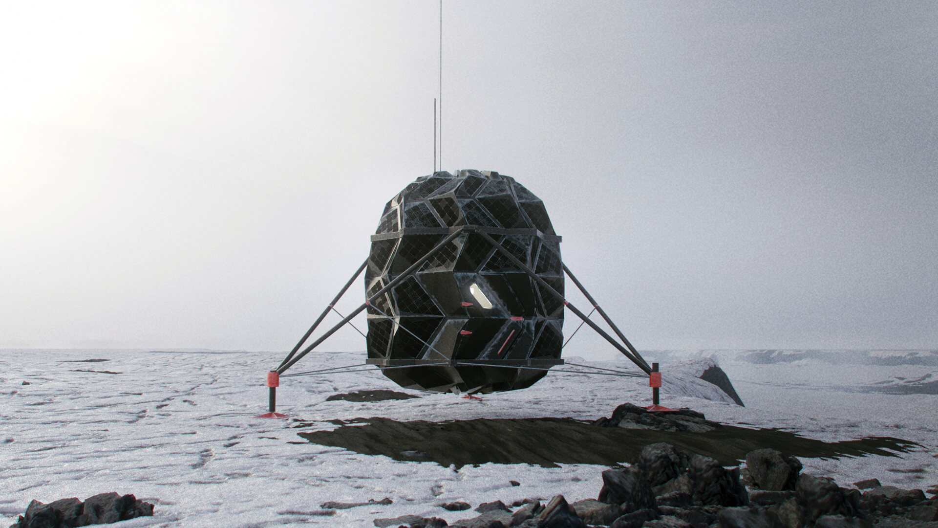 Visualisation of the habitat, project LUNARK | LUNARK by SAGA Space Architects | STIRworld