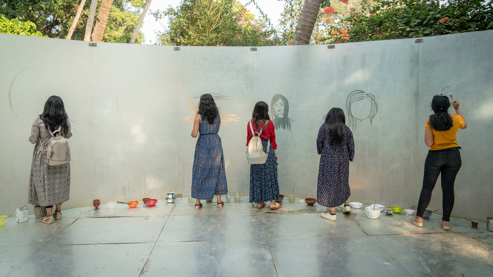 Water Temple, Song Dong, 2018, Installation view 1| Kochi Muziris Biennale| STIR