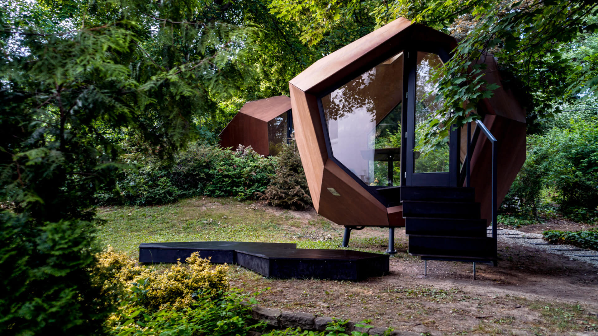 Workstation Cabin designed by Hello Wood for installation in outdoor environments | Workstation cabin| Hello Wood| STIRworld
