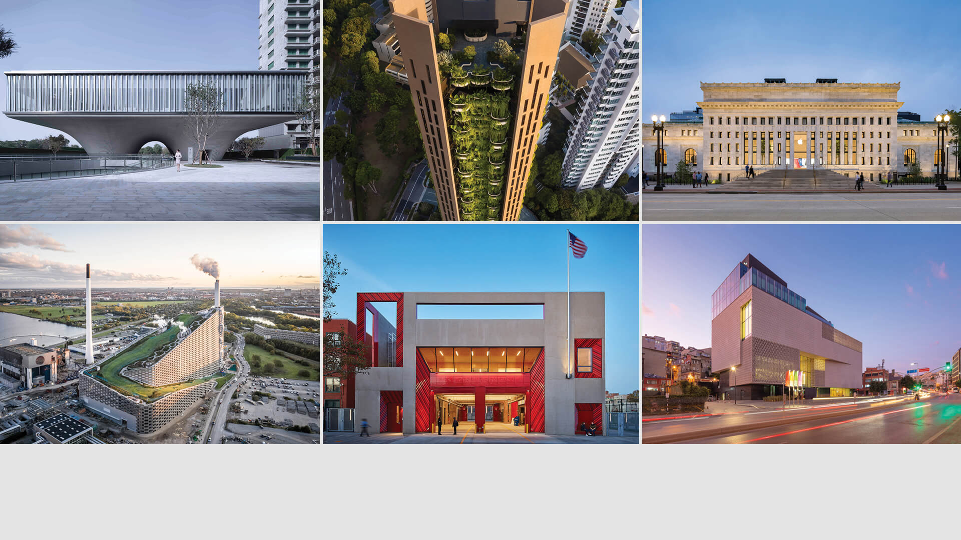 World Architecture Festival 2021 reveals Completed Buildings shortlist