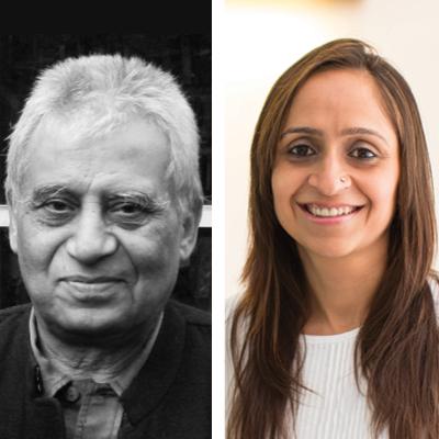 Tanya Khanna and MN Ashish Ganju