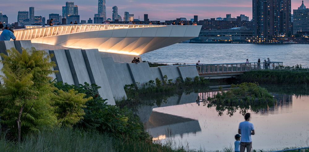 Waste to wonder: waterfront park in New York