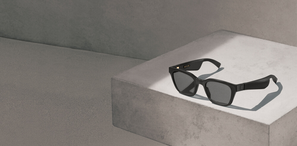 Play your favourite tracks with these sunglasses - Bose AR wearables