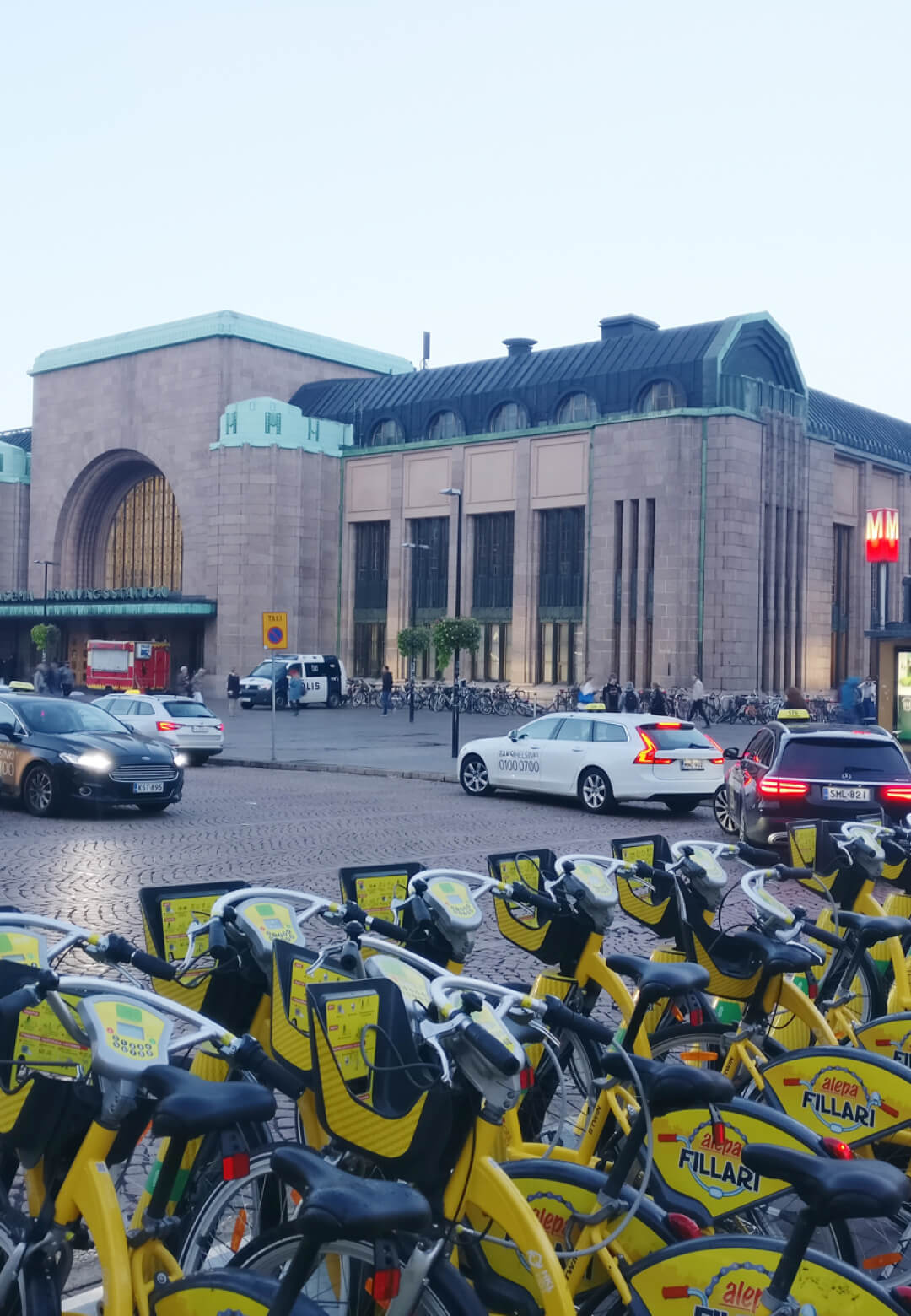 Smart mobility and switching to greener modes of transport is encouraged in Helsinki