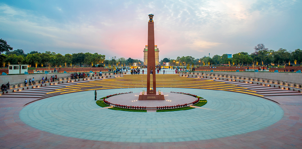 The National War Memorial, New Delhi