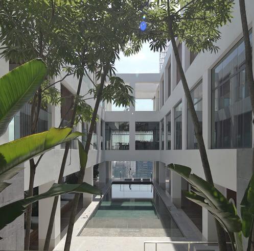Neri&Hu's latest courtyard intervention at hotel Alila Bangsar in Kuala Lumpur