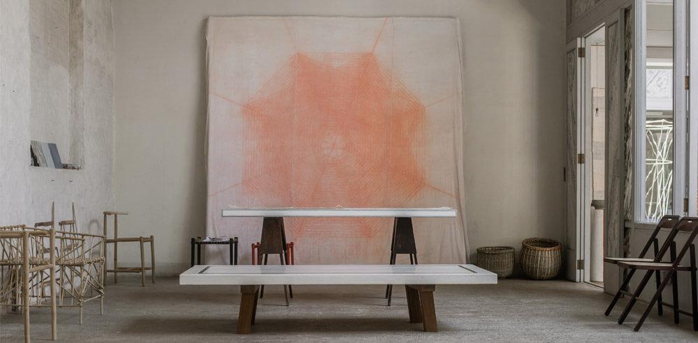 Studio Mumbai's second exhibition at gallery Maniera, Belgium