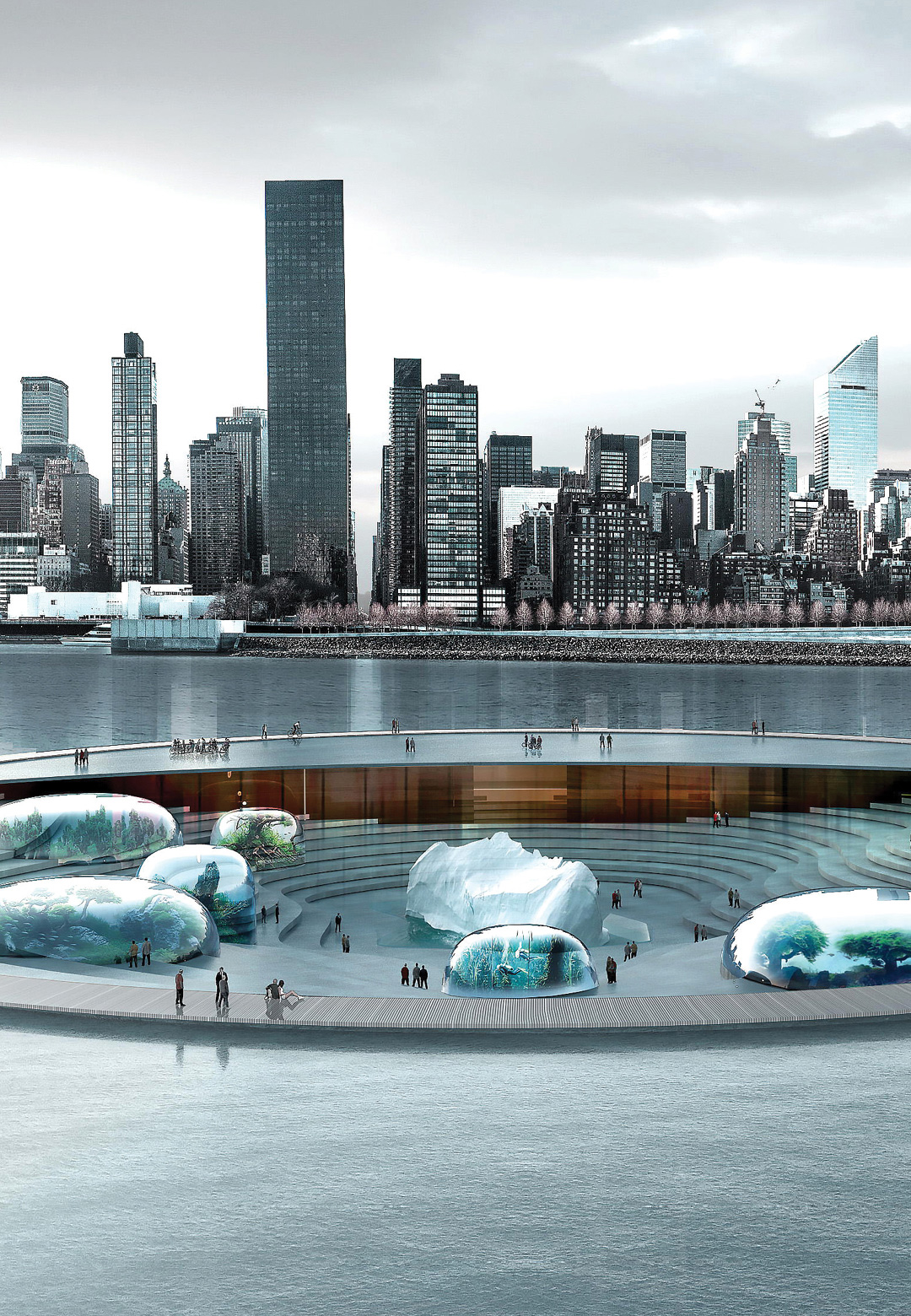 Winning proposal for the waterfront Aquarium and Marine Centre, New York| Piero Lissoni| Lissoni Associati| STIR