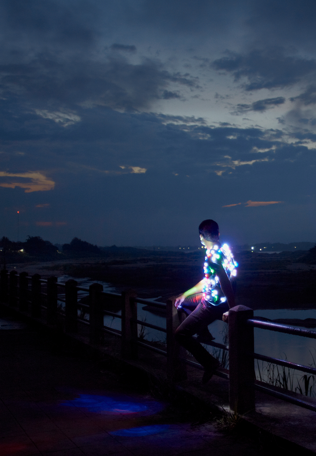 'Power Boy (Mekong), 1500mm x 2250mm, Lightjet Print, by Apichatpong Weerasethakul, 2011| Artes Mundi| STIR