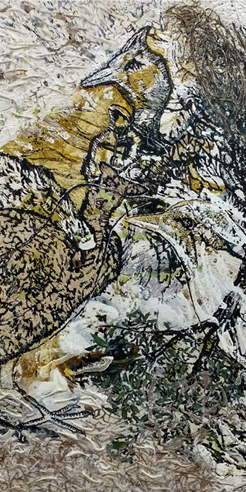 Artist Jayashree Chakravarty voices environmental concerns on canvas