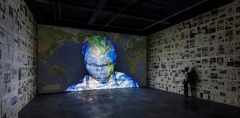 Artist Nalini Malani's exhibition draws attention to world conflicts