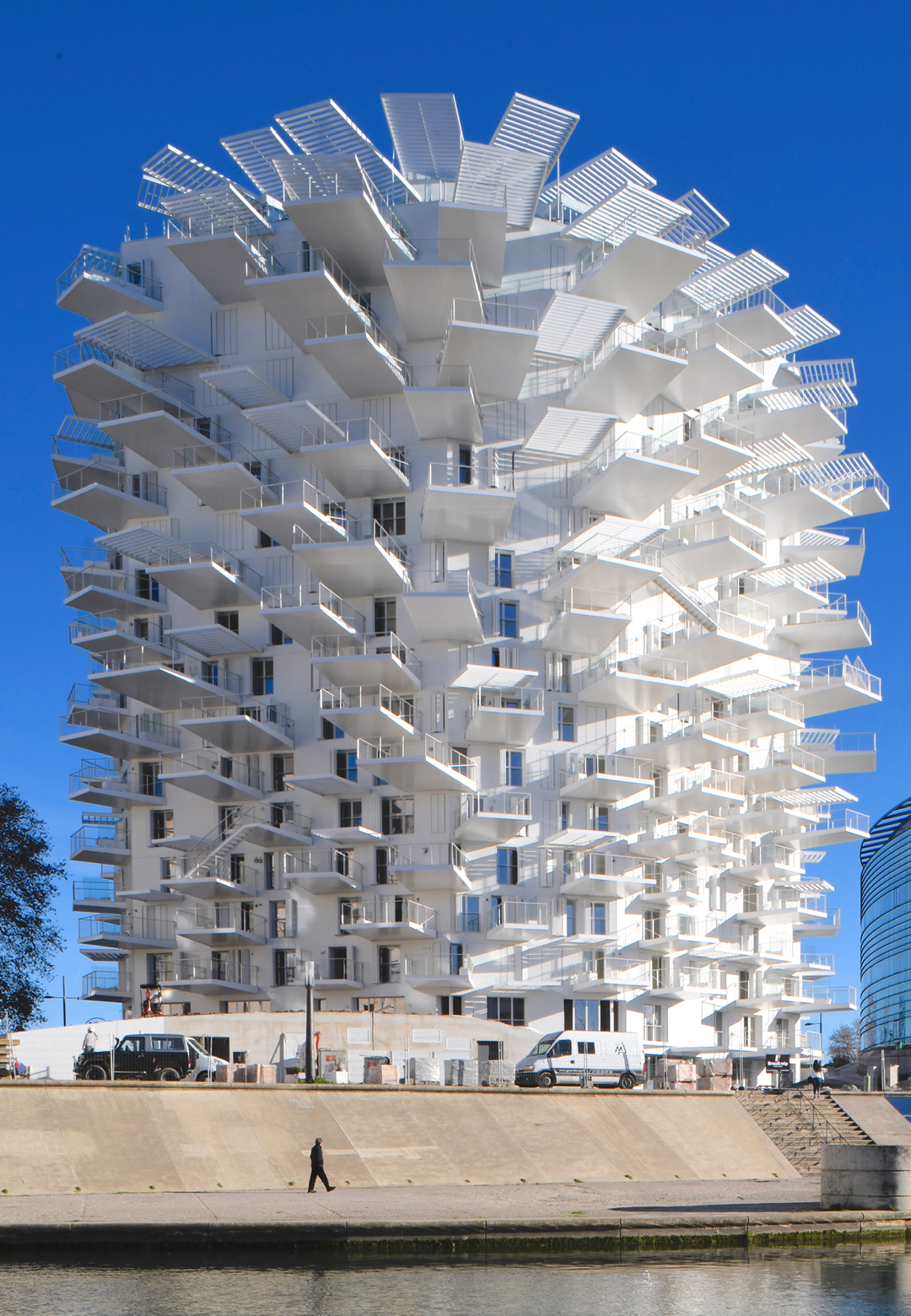 A view of the tower L'Arbre Blanc| Nicolas Laisné, Manal Rachdi, Sou Fujimoto| STIR