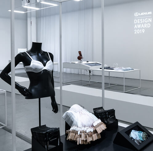 Lexus Design Award 2019, Winner: 'Algorithmic Lace Bra' by Lisa Marks
