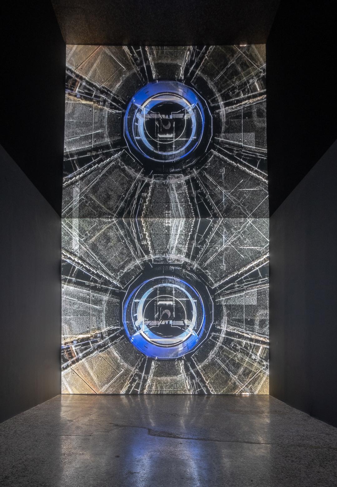 Emilija Škarnulyte's video installation t1/2  t1/2  Emilija Škarnulyte   Future Generation Art Prize 2019   STIR
