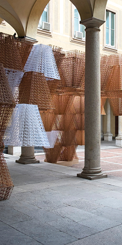 COS & Mamou-Mani collaborate to create a 3D printed bioplastic structure