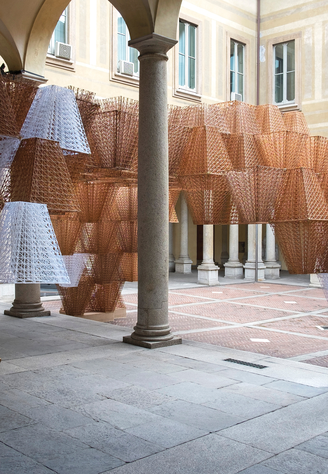 The installation Conifera at Palazzo Isimbardi| COS|Mamou Mani| Conifera| Salone del Mobile| STIR