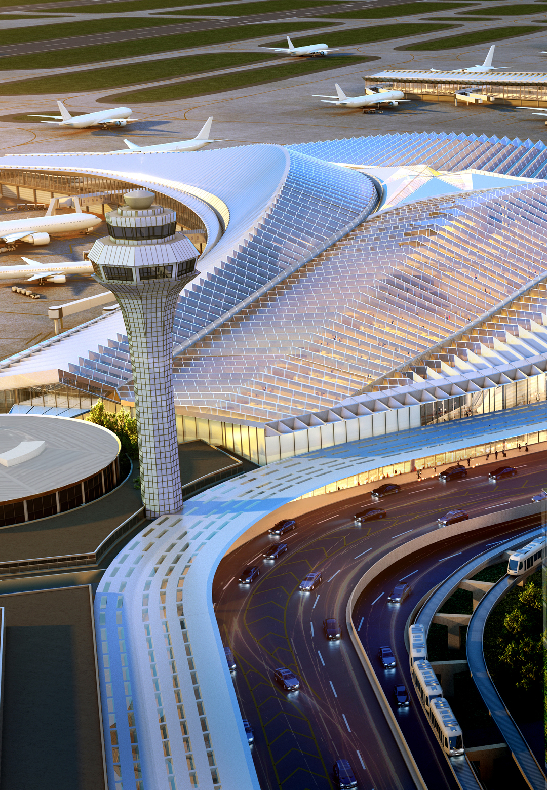 Studio ORD's design for O'Hare International Airport| O'Hare International Airport| Studio ORD| STIR