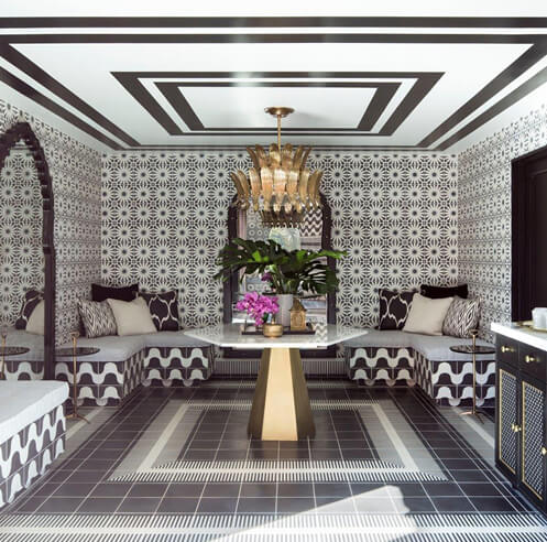 Moroccan imprints seen at The Sands Hotel and Spa by Martyn Lawrence Bullard