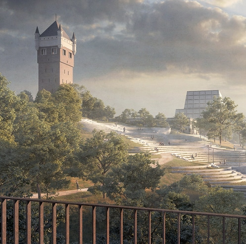 Esbjerg Bypark in Denmark to get redesigned by Henning Larsen