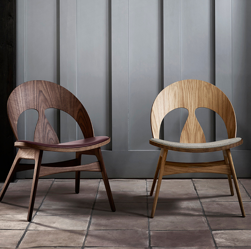 The Contour Chair designed by Børge Mogensen is back on the shelves