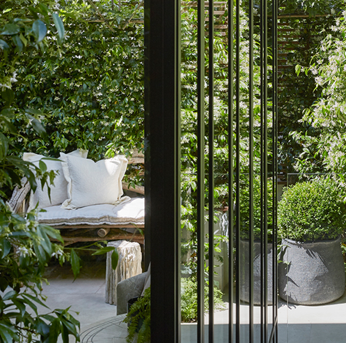 Designer Louise Bradley's London home is a blend of classic and contemporary