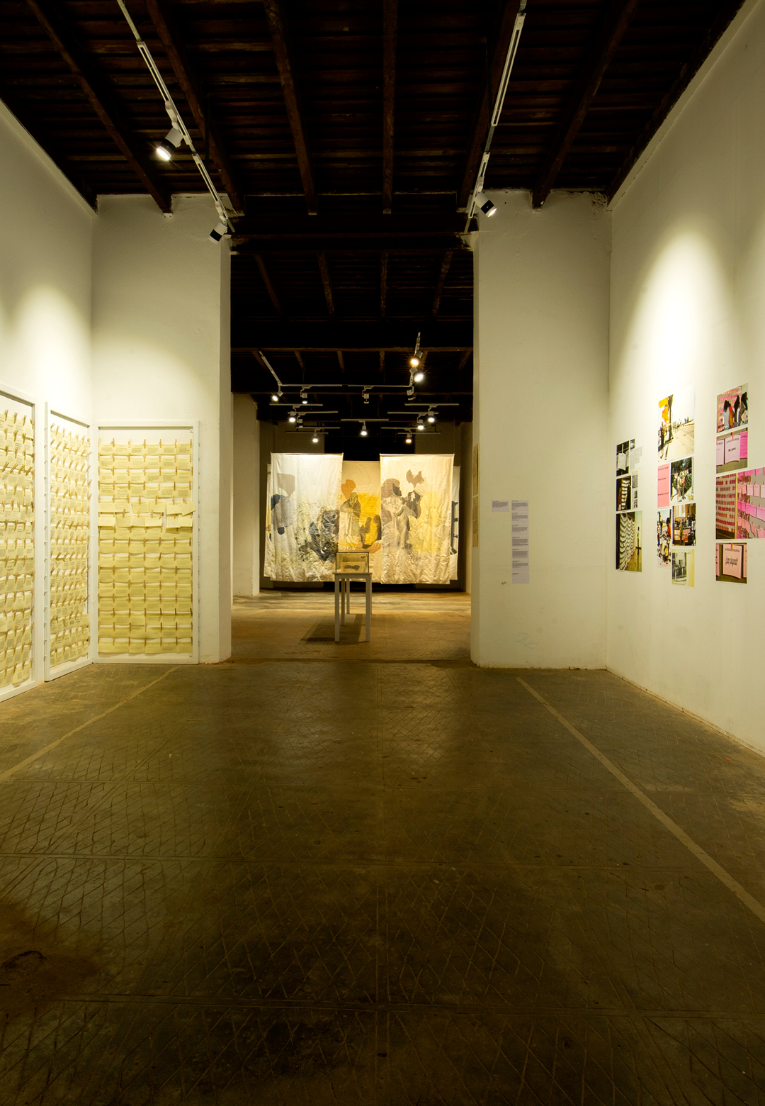 The Clothesline, Monica Mayer, participative installation, 2018, display 1| Kochi Muziris Biennale| STIR