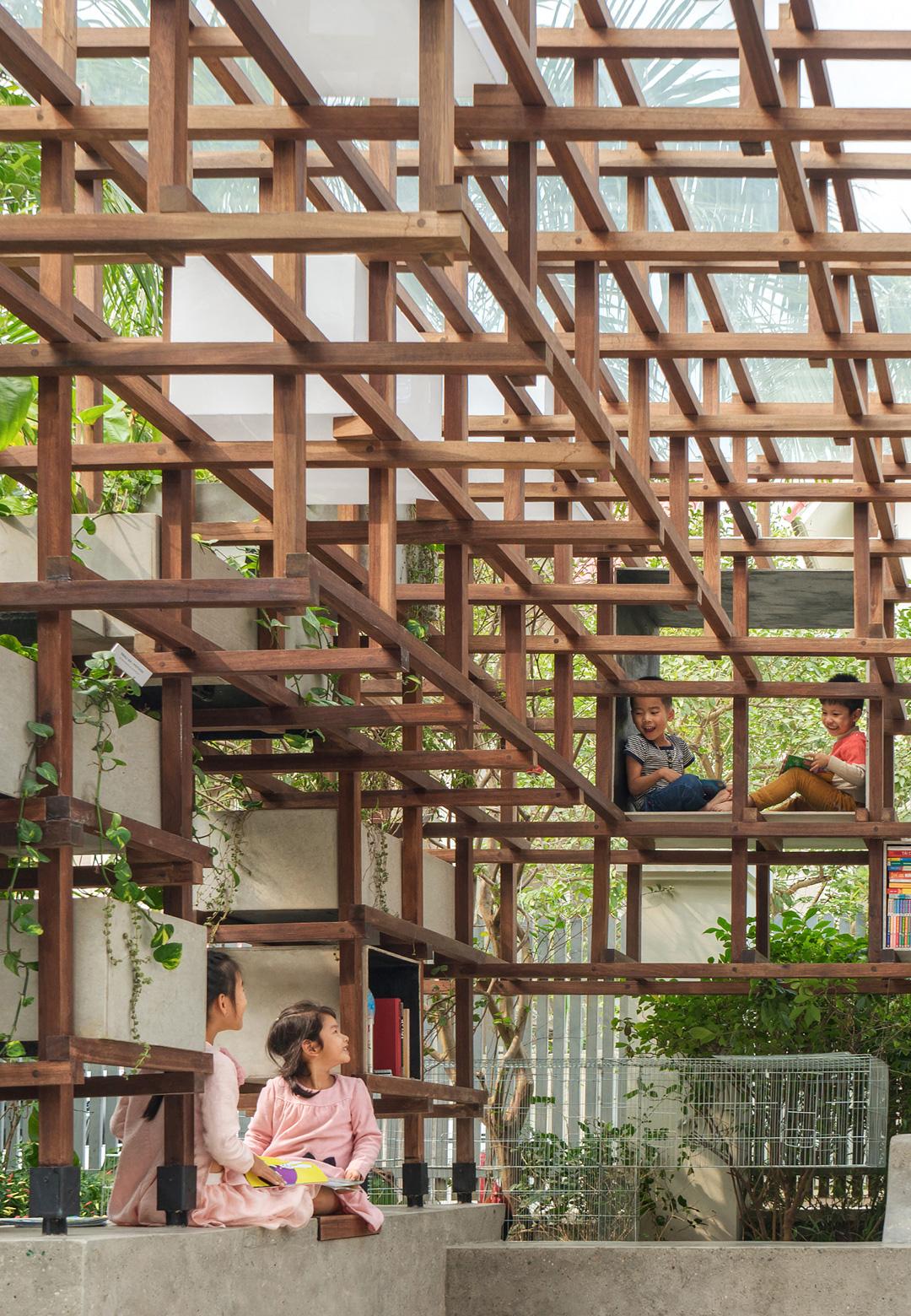 VAC Library, Hanoi, by Farming Architects| VAC Library | Farming Architects | STIR