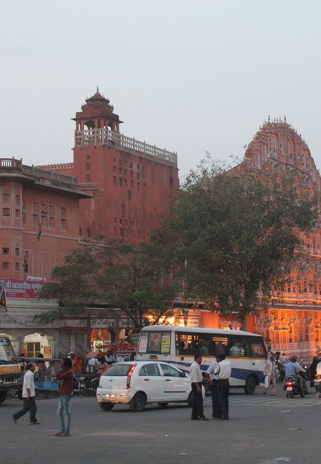 A view of Talkatora and Chaugan Stadium in Jaipur from Nahargarh Fort    Jaipur   UNESCO World Heritage Site   STIR