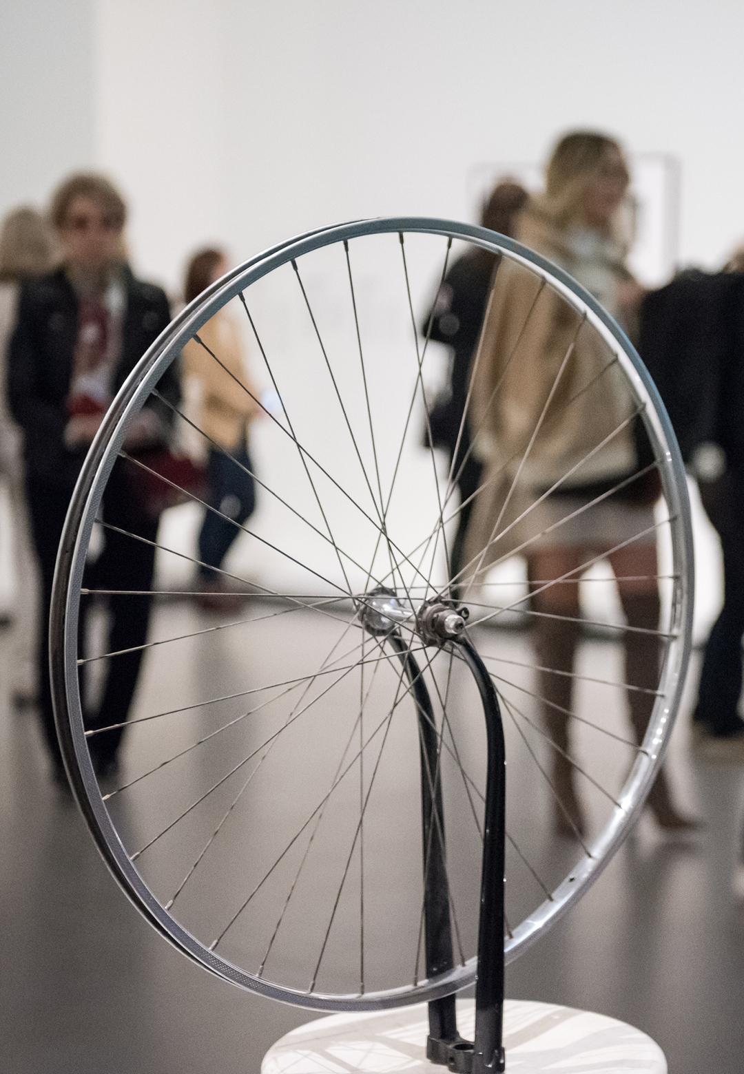 Bicycle Wheel, Marcel Duchamp, 1951, third version after the lost original of 1914, Museum of Modern Art | Museum of Modern Art| STIR