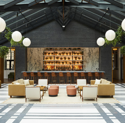 Gachot Studio pairs urban luxury with the charm of history at Shinola Hotel, Detroit