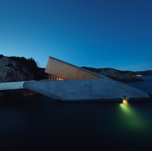 Snohetta creates Europe's first underwater restaurant 'Under' the sea