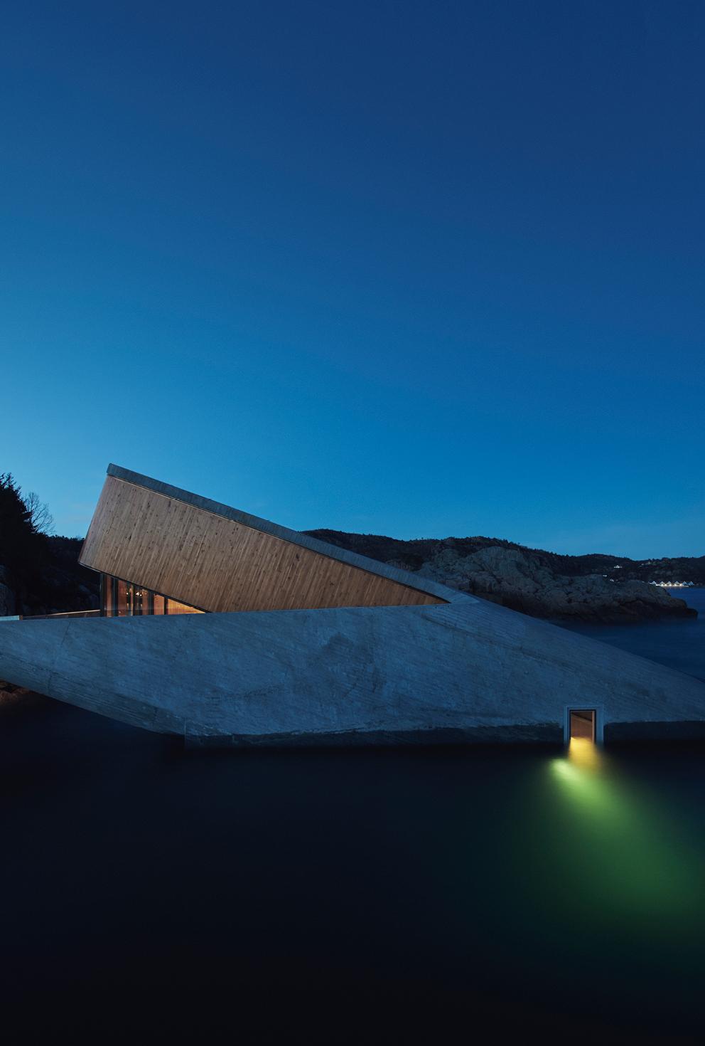 Snohetta creates Europe's first underwater restaurant 'Under' the sea
