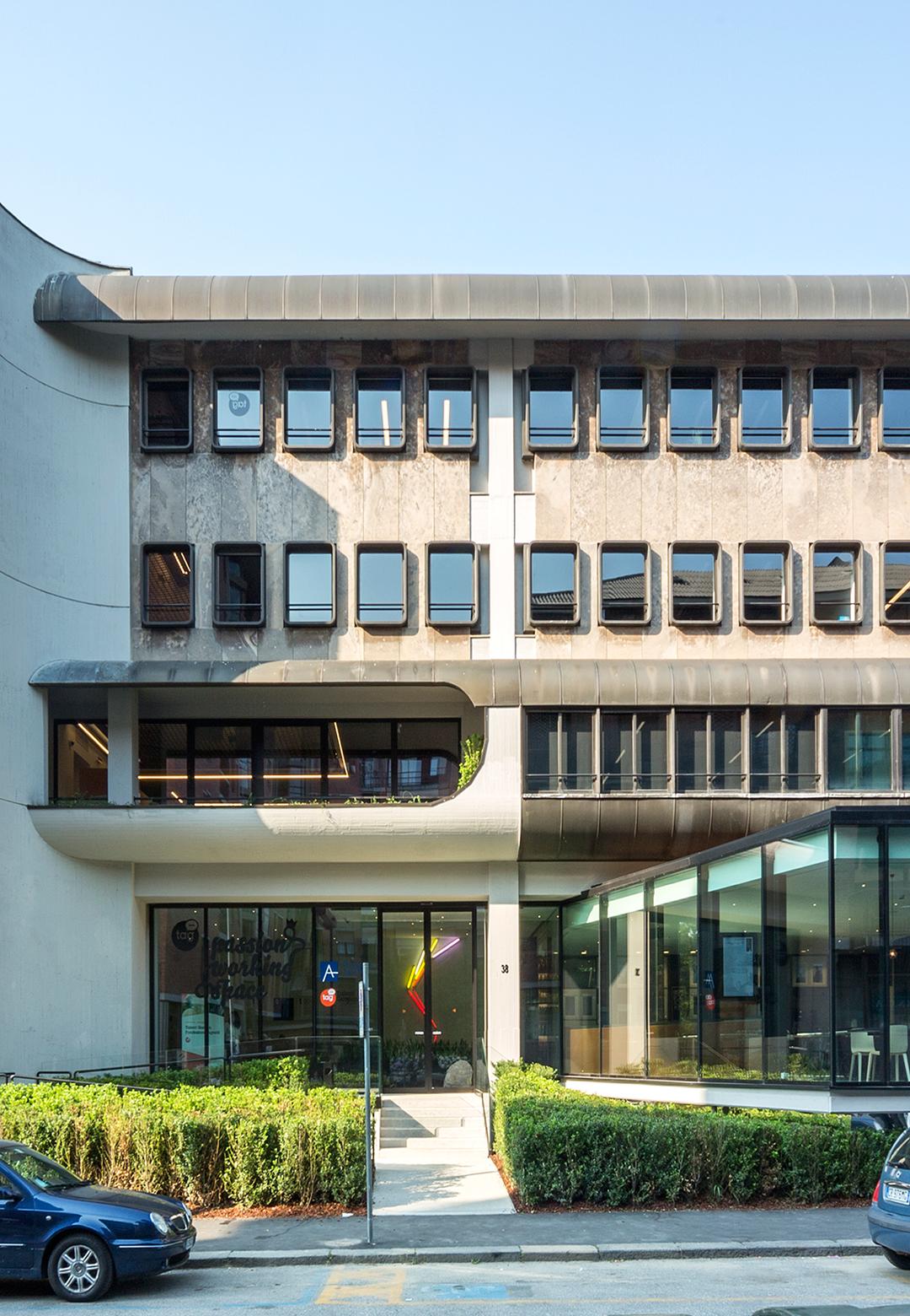 External façade| Fondazione Agnelli | Carlo Ratti Associati |Agnelli Foundation| STIR