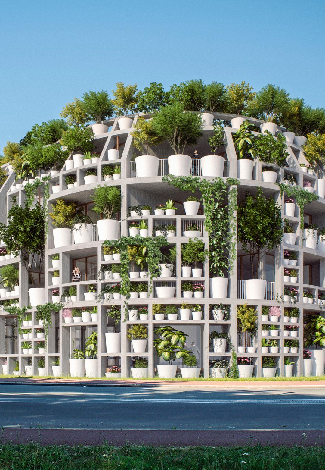 The Green Villa in Netherlands, as envisioned by MVRDV   Green Villa   MVRDV   Van Boven Architecten   STIR