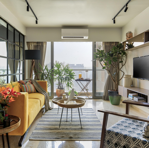 Zero9 brings a Mediterranean vibe to this Mumbai apartment