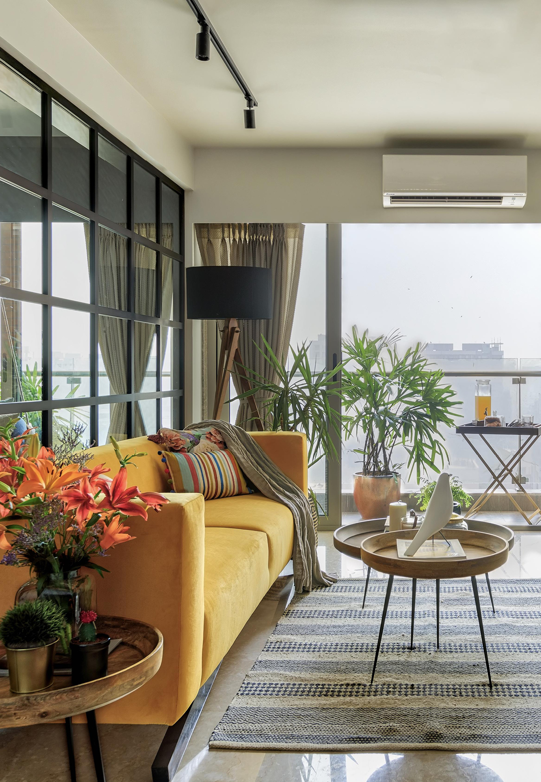 The overall styling of the home has been kept light and easy to make space for the family to add their own personal touches| Anu Chauhan, Prashant Chauhan| Zero9| STIR